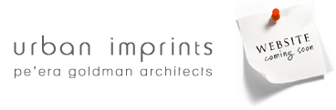 Urban Imprints Peera Goldman Architects